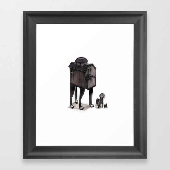Barn Animal Framed Art Print