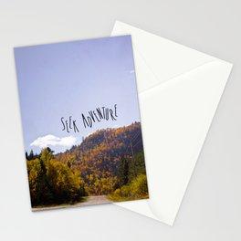 seek adventure Stationery Cards