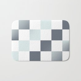 Square Pattern Simple Grid #decor #society6 #buyart Bath Mat