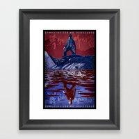 Sympathy for Mr. Vengeance [full color] Framed Art Print
