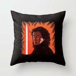 The Fire Inside Throw Pillow