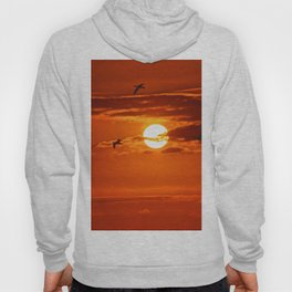 Red Sunset2 False Bay Hoody