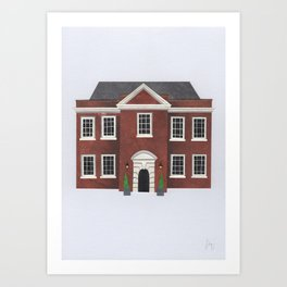 Assembly House (Norwich) Art Print