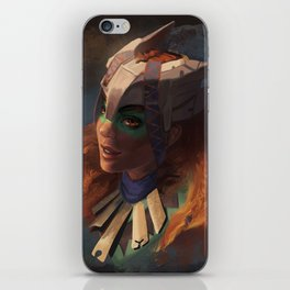 Huntress of the Frozen Wilds iPhone Skin