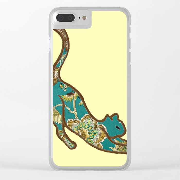 I love you, kitten Clear iPhone Case