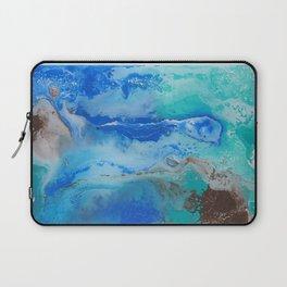 Lightning in the Sea Laptop Sleeve