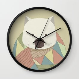 Whimsical Wombat Wall Clock