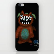 Scared Monster iPhone & iPod Skin