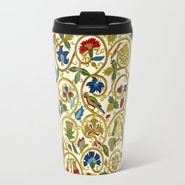 Embroidered Elizabethan / Jacobean Jacket Travel Mug