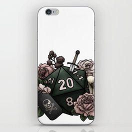 Rogue Class D20 - Tabletop Gaming Dice iPhone Skin