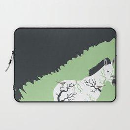 Zebra in the Woods Laptop Sleeve