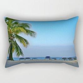 Trinidad Beach, Cuba, Early Morning Rectangular Pillow
