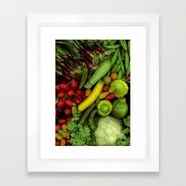 Spring Mix Framed Art Print