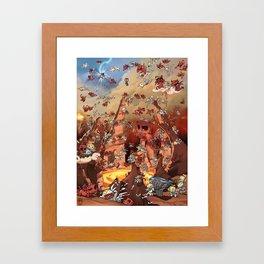 Heaven Melee Framed Art Print