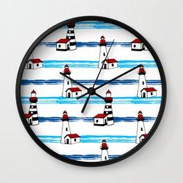 Mediterranean Nautical decor Wall Clock