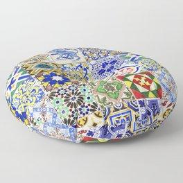 Azulejo — Portuguese ceramic #15 Floor Pillow