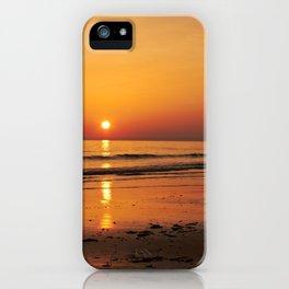 A Golden Gower Sunset iPhone Case