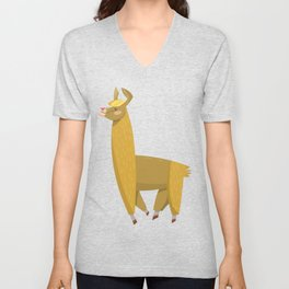 hump day camel Unisex V-Neck