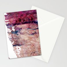 Pink landscape Stationery Cards