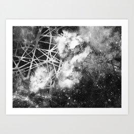 α Crucis Art Print