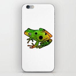 Frog I iPhone Skin