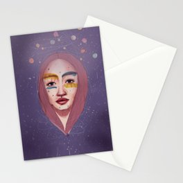 the moon song Stationery Cards