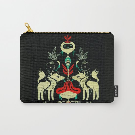 Mandragora and fox Carry-All Pouch