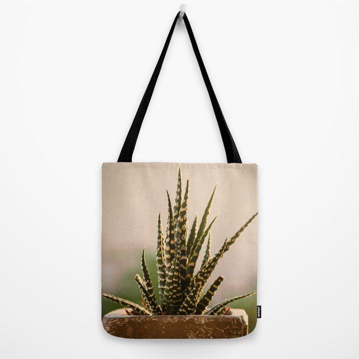 flora-cactus Tote Bag by lazarina   Society6