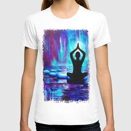 Namaste Yoga Painting T-shirt