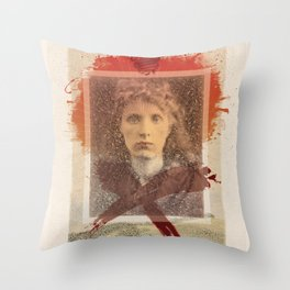 Star-crossed Woman Throw Pillow
