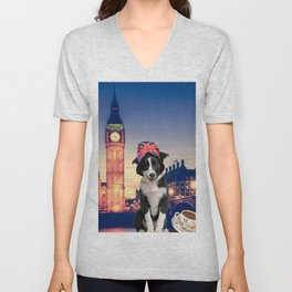 Pulp in London Unisex V-Neck