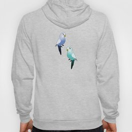 Blue Budgies Hoody