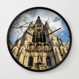 Lille Cathedral Wall Clock