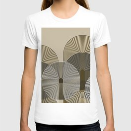 Arches And Circles T-shirt