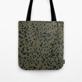 Dash Dot Army Tote Bag