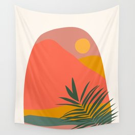 Tropical Landscape Wall Tapestry