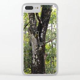 Anole Dewlap Clear iPhone Case