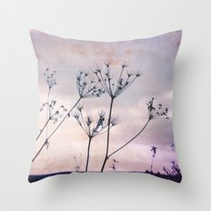 evening stars Throw Pillow