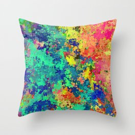 Abstract Art 07 Throw Pillow