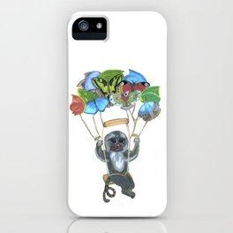 Pygmy Marmoset - Skydiver iPhone Case