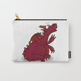 red baby dragon Carry-All Pouch