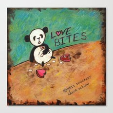 Love Bites Canvas Print
