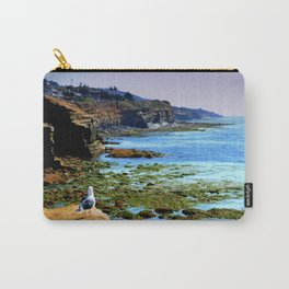 The world Is So Big And I Am So Small ~Southern California Carry-All Pouch