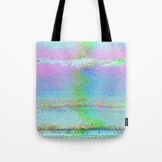 08-24-89 (Digital Drawing Glitch) Tote Bag