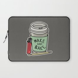 Wake & Bake Laptop Sleeve
