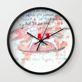 rockinghorse Wall Clock