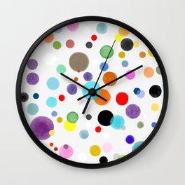 Happy birthday confetti 2021 Wall Clock