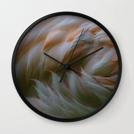 flamingo concentrate Wall Clock