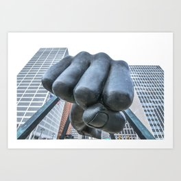 "Monument to Joe Louis - ""The Fist""  Art Print"