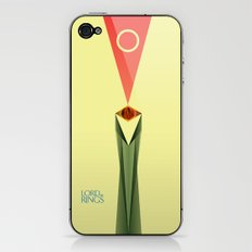 Lord of the Rings Minimal Film Poster iPhone & iPod Skin